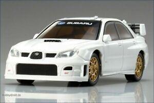 1/43 Kyosho Dnano karosserie SUBARU IMPREZA WRC 2006 Weiß NEU&OVP