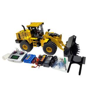 1/14 RC Hydraulic Wheel Loader Model 980L RTR Bulldozer Engineering Loader Toy