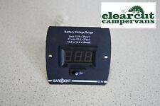 Digital 12v Battery Monitor/Tester, Campervan Leisure Battery Condition Monitor