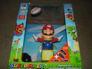 Nintendo Super Mario Flying Cape Mario Remote Control Helicopter Carrera