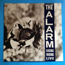 The Alarm-Electric Folklore Live-1988 IRS PROMO STAMP-Mini LP-VG++/M-  UNPLAYED