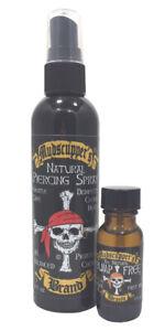 Piercing Aftercare - Piercing Bump Treatment - Mudscupper's