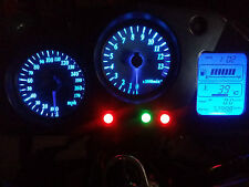 Azul VFR800 RC46 98-01 LED Dash Kit de conversión de Reloj lightenupgrade