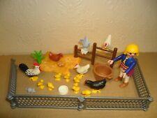 PLAYMOBIL CHICKENS (Hens,Cockerel,Chicks,Animals for Farm)