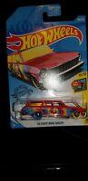 NIB 2019 Hot Wheels HW Art Cars 188/250 '64 Chevy Nova Wagon 10/10 Red