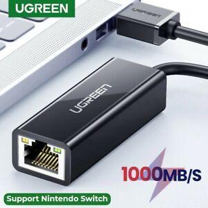 Ugreen USB Ethernet 3.0 to RJ45 Lan Adapter Network Card Switch Laptop AU