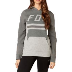 Fox Racing Pasque Womens Hoodie - Grey Medium