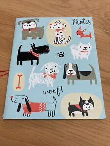 Slip In Photo Albums 6 x 4 Holds 40 Photos Family Memories Gift Cute Dogs Design