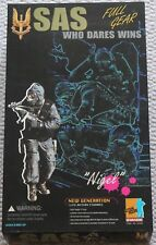 "Dragon Action Figure 1/6 12"" Nigel SAS britanniche 72002 giocattolo ha fatto Cyber Hot Toys"