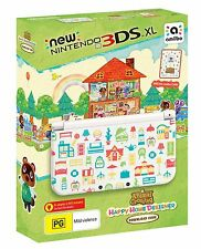 Official New Nintendo 3DS XL Animal Crossing Happy Home Designer  + Warranty!!!