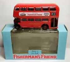 EFE DIECAST 1:76 SCALE ROUTEMASTER - LONDON TRANSPORT - FISHERMAN'S FRIEND