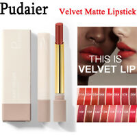 Nude Red Smooth Nutritious Matte Sexy Makeup Cosmetics Lip Balm Lipstick