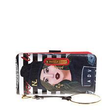 PRT6700 Nicole Lee Wallet Wristlet Strap With Bracelet PAOLA-IS-TOMBOY