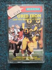 Grid Iron cassette tape by Top Ten for the BBC MIcro / Electron