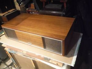 panasonic model se 1318 solid state record player am,fm stereo desktop console