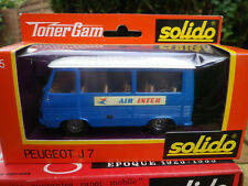 SOLIDO 1/43em rara PEUGEOT J7 AIR INTER n. 355 nuovo in scatola originale