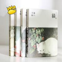"""Flower Cat"" 1pc Cute Sketchbook Notebook Blank Papers Journal Drawing Notepad"