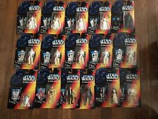 Kenner Star Wars Figure Lot Luke Long Lightsaber With Box! POTF Stormtrooper