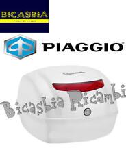 9421 - BAULETTO POSTERIORE 32 LT BIANCO MONTEBIANCO 544 VESPA 50 125 150 S