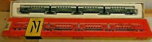 Piko 5/4136-01 4teiliger Double Decker Train of the German Reichsbahn (GDR) IN