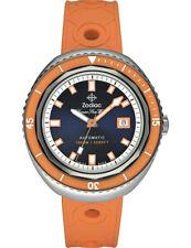"""Zodiac ZO9503 """"Super Sea Wolf 68"""" Automatic Swiss Movement Rubber Strap Watch"""