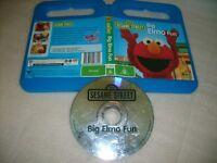 *SESAME STREET BIG ELMO FUN* Australian ABC For Kids Issue + Extras Region 4 DVD