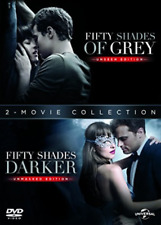 Fifty Shades Darker/Fifty Shades Grey DVD NEW