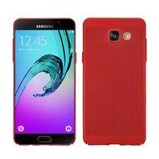 Samsung Galaxy A3 2017 Couverture Téléphone Sac de Protection Étui Rouge