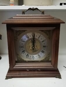 Bulova Chiming Mantle Clock University of Oregon Vintage