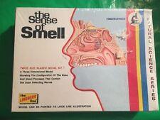 Vintage Lindberg Natural Science model kit sense of smell NEW sealed USA 1973