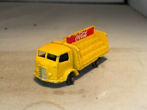 #37B Coca-Cola Even Load Delivery Truck BPW Matchbox Lesney Made in England
