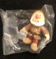 "Vintage Disney Snow White Sneezy PVC Figure by Applause 2"" Dwarfs"
