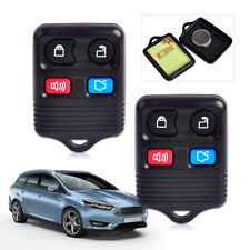2pcs 4 Button Fit for Ford Mercurya Remote Keyless Entry Key Fob Shell Case