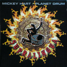 Mickey Hart • Planet Drum ‎– Supralingua-:2 CD SET-Electronic, Folk, World,