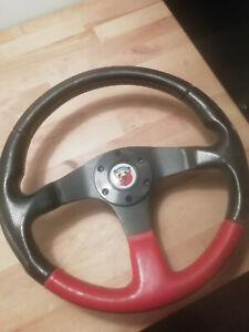 Fiat Cinquecento Abarth MOMO steering wheel *EXTREMELY RARE*