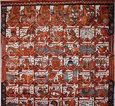 Indonesian Java Tapa painting on canvas49 ancient fairy tales