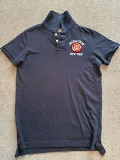 Abercrombie & Fitch Navy Poloshirt Large