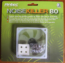 BRAND New Sealed Antec Noise Killer 80 Fan Silicone Gasket FAST FREE POST