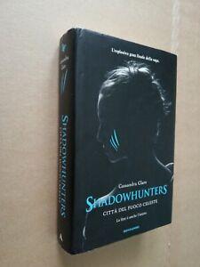 Libro shadowhunters città del fuoco celeste cassandra clare  Mondadori