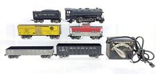 Marx Trains 25224 Steam Locomotive Engine Set W/ Box O Scale