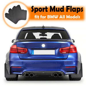 4Pcs Mud Flaps For BMW X7 G07 3/5/7 series M3 M7 Splash Guards Mudguards Fender