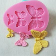 1x Silikon Butterfly Modelling Fondant Dekoration-Form Backform Cake Form Neu·
