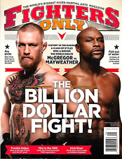 FIGHTERS ONLY Magazine September 2017 McGREGOR vs MAYWEATHER Historic Fight -NEW