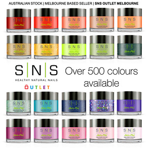 SNS Dipping Powder Gelous Colour All Colours/ Collections (1oz/ 28g)
