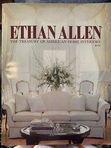 Ethan Allen Catalog Treasury of American Home Interiors 90th Edition 1990 VTG