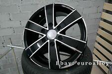 4x 16 inch 6x130 1250KG Mercedes Sprinter VW Crafter black wheels wheels black
