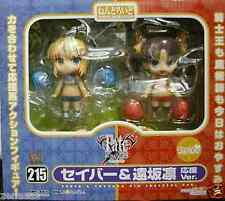 New GoodSmile Nendoroid Fate/stay night Saber & Rin Tohsaka Cheerful ver PAINTED