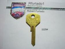 Key Blank For Vintage Plymouth, Dodge Trucks, Bargman Trailer 30's 40's (1125H)