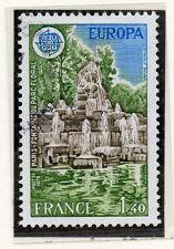 TIMBRE FRANCE OBLITERE N° 2009 FONTAINE PARC FLORAL /