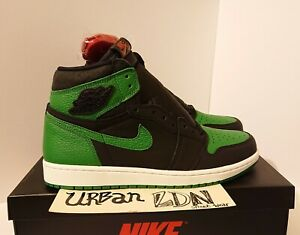 Nike Air Jordan 1 High Pine Green UK9.5 EU44.5 US10.5 *Brand New* 555088-030